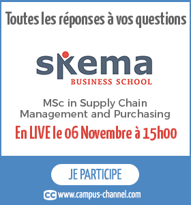 Le MSc Supply chain & purchasing sur Campus Channel