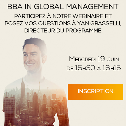 Webinaire BBA In Global Management