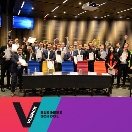 Quatre étudiants SKEMA ont remporté le Merger and Acquisitions Challenge de Vlerick Business School